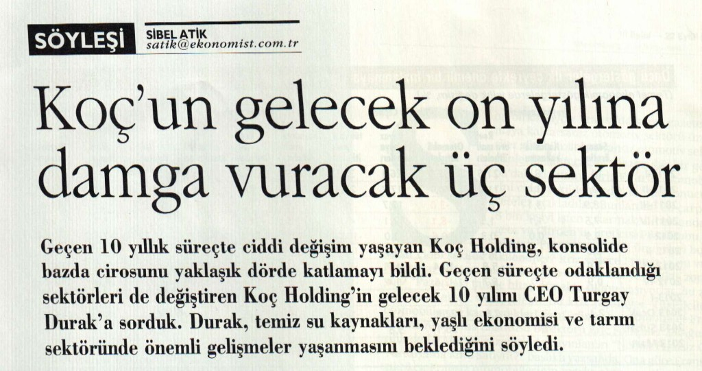 KOC-Holding-Hedef